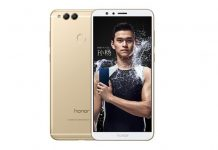 Huawei Honor 7x phone