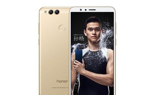 Huawei Honor 7x phone