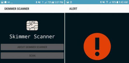 Skimmer Scanner app
