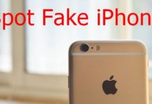 Spot Fake iPhone