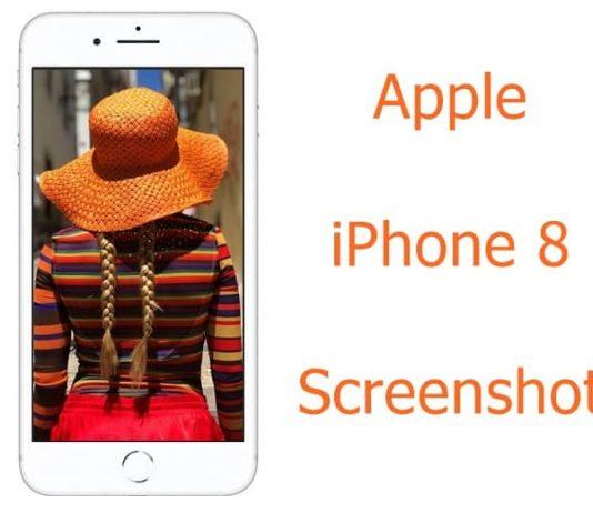 Apple iPhone 8 Screenshot