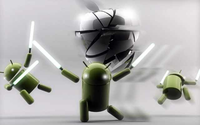 Apple iPhone vs Android