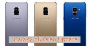 Galaxy A8 Plus Oreo update