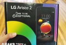 LG Aristo 2 phone