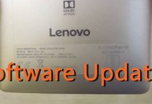 Latest Lenovo Software update on Phone