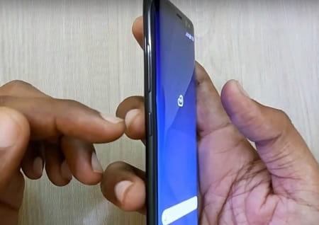 Screenshot on Galaxy S9