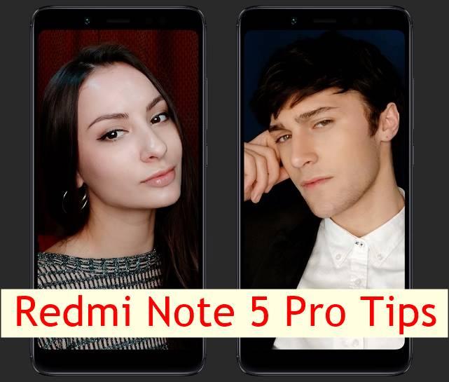 Redmi Note 5 Pro tips
