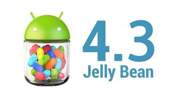 Android 4.3 Jelly Bean update