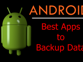 Best Android Apps to Backup Data