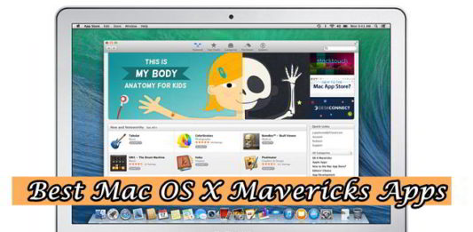 Best Mac OS X Maverics Apps