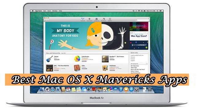 Best Mac OS X Maverics Apps
