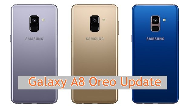 Galaxy A8 Plus Oreo update