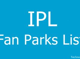 IPL Fan Parks List