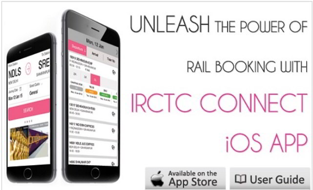 IRCTC App for iPhone