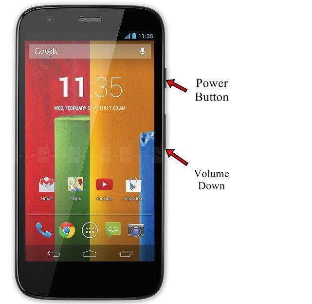 Motorola Moto G Screenshot