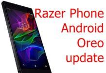 Razer Phone Oreo update
