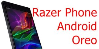 Razer Phone Oreo update
