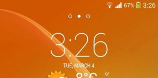 Sony Xperia Launcher
