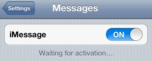Waiting for Activation iPhone Error