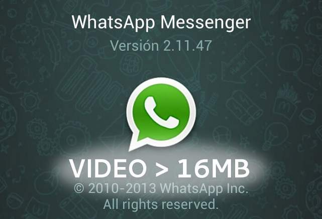 WhatsApp File Size Limits