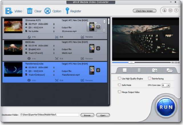 Winx Mobile video screenshot