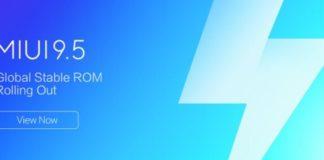 Xiaomi MIUI 9.5 Stable ROM