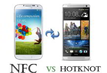 data transfer Mediatek vs Hotknot