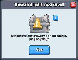 Fix Clash Royale Reward Limit Reached
