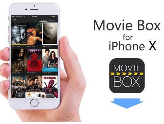 Moviebox on iPhone X