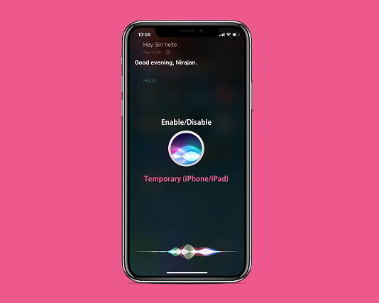 disable untethered hey siri iphone