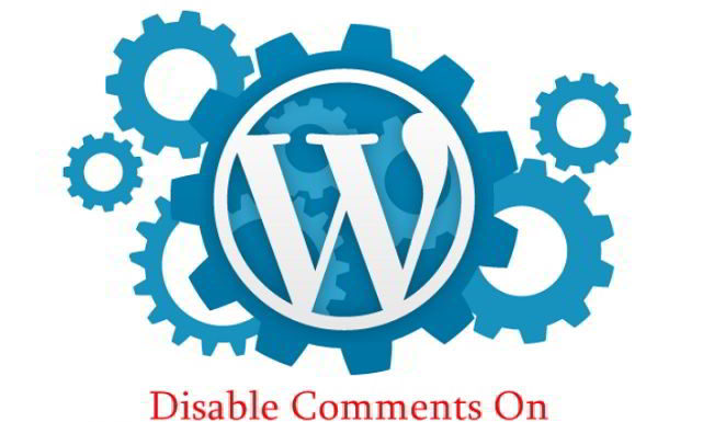 Disable comments on WordPress blog