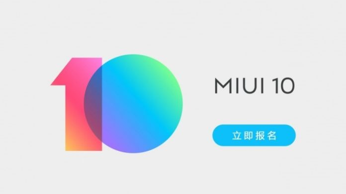 Xiaomi MIUI 10 update; MIUI 10 update, MIUI 10 download