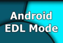 Android Phone in EDL mode