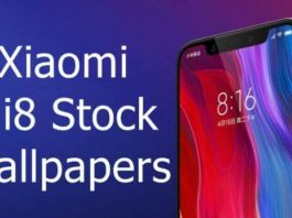 Xiaomi Mi 8 stock wallpapers