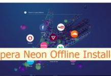 Opera Neon Offline installer