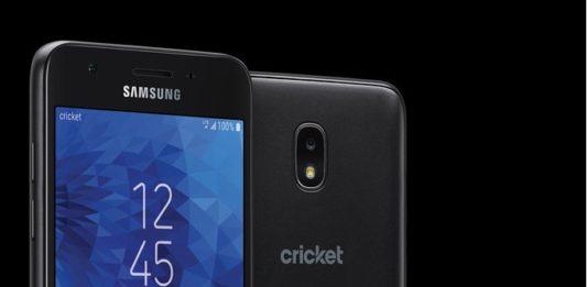 Cricket Wireless Samsung Galaxy Amp Prime 3