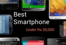 Best Smartphone under Rs 50000