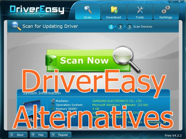 Best alternatives to DriverEasy; drivereasy alternatives