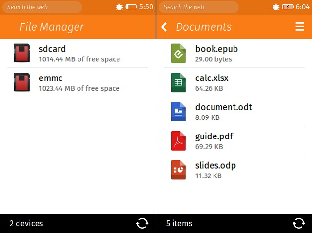 File Manager for Firefox OS
