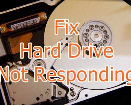 Fix Hard Drive Not Responding Error