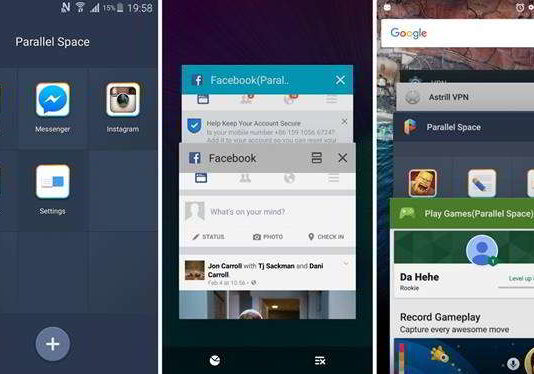 Parallel Space for Android