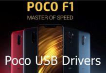 Poco USB drivers