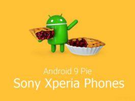 Sony Android Pie Phones List