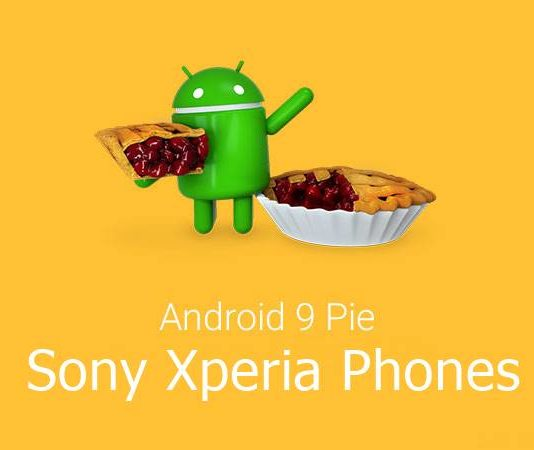 Sony Android Pie Phones List