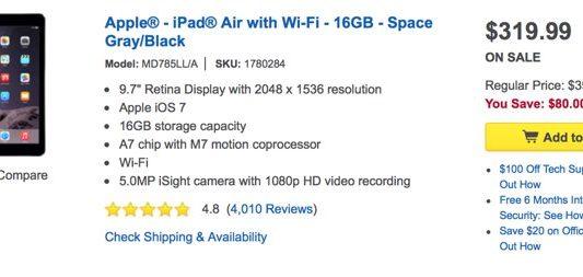 Best Buy iPad Deals