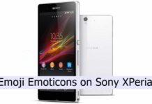 download Emoji Emoticons on Sony Xperia phones