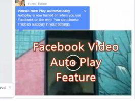 Facebook Video Auto Play