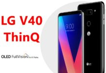 LG V40 ThinQ Price in US; LG V40 ThinQ release date
