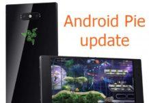 Razer Phone 2 Android Pie update