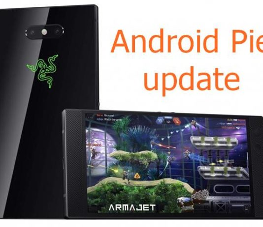 Razer Phone 2 Android Pie update
